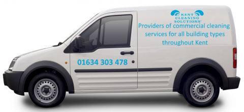 Kent Cleaning Solutions Van